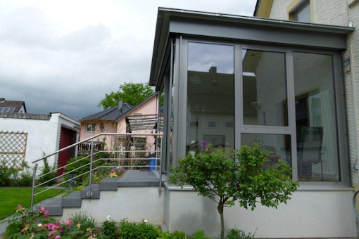 bau eines wintergartens in neuwied engers referenz. Black Bedroom Furniture Sets. Home Design Ideas